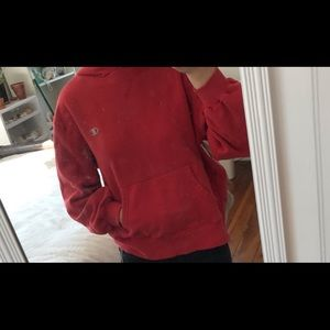 red champion hoodie!
